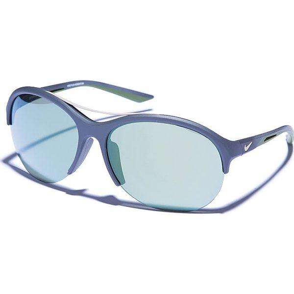 Okulary Damskie Flex Momentum W Kolorze Granatowo Zielonym
