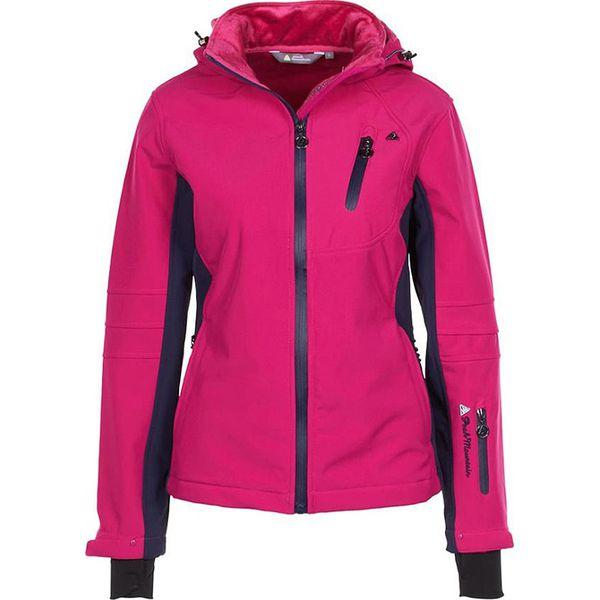 df8af297a472b Kurtka softshellowa w kolorze różowym - Czerwone kurtki damskie ...