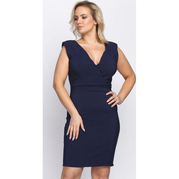 918776dc60 Granatowa Sukienka Outshine - Niebieskie sukienki damskie marki ...