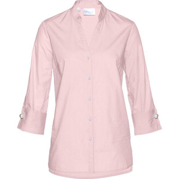 a5ad25e64b0 Tunika bluzkowa bonprix pastelowy jasnoróżowy - Czerwone tuniki damskie  marki bonprix