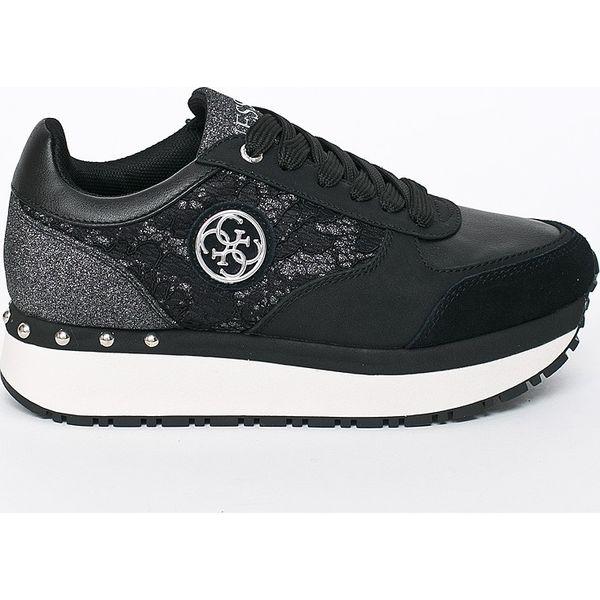 09a819260d0a4 Guess Jeans - Buty - Czarne obuwie sportowe damskie marki Guess ...