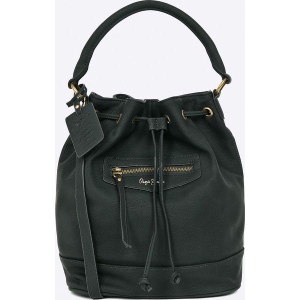 d85d2fae6ecc Pepe Jeans - Torebka Olivia - Czarne torebki klasyczne damskie marki ...