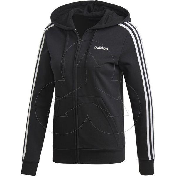 Damskie Adidas Gym Bluza Z Kapturem Czarna, Adidas Spodnie