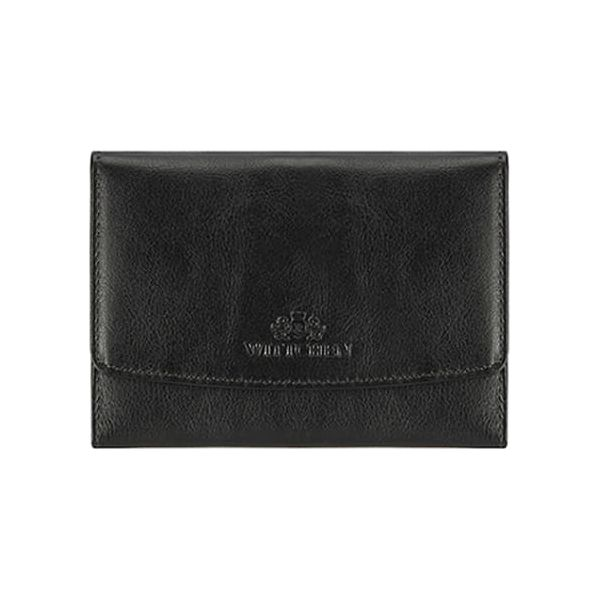 c8145f5cf7810 Skórzany portfel w kolorze czarnym - (S)10 x (W)14 cm - Portfele ...