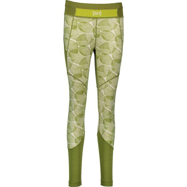 2230703a4afa31 Sportowe legginsy w kolorze zielono-białym - Legginsy damskie marki ...