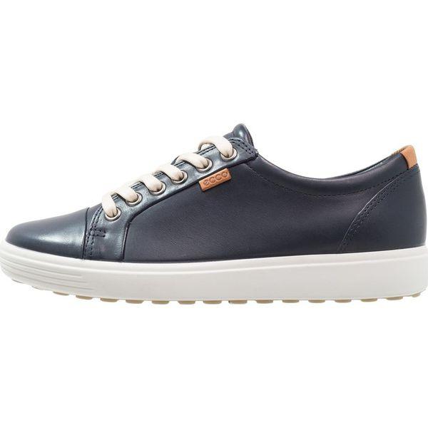 0196e379 ecco SOFT LADIES Sneakersy niskie marine - Niebieskie obuwie ...