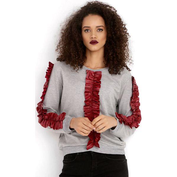 Czerwone bluzy damskie sklep internetowy Modne Kolory