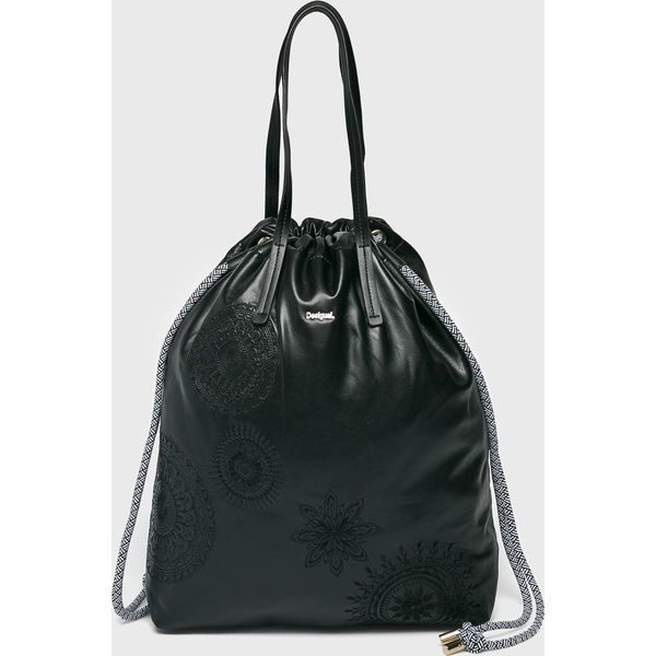 39e2a8291c17d Desigual - Torebka - Szare torebki klasyczne damskie Desigual, z ...