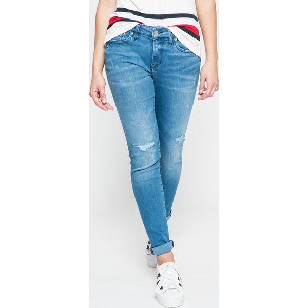 55e81573f30a3 Tommy Hilfiger - Jeansy Venice Rw - Niebieskie jeansy damskie marki ...