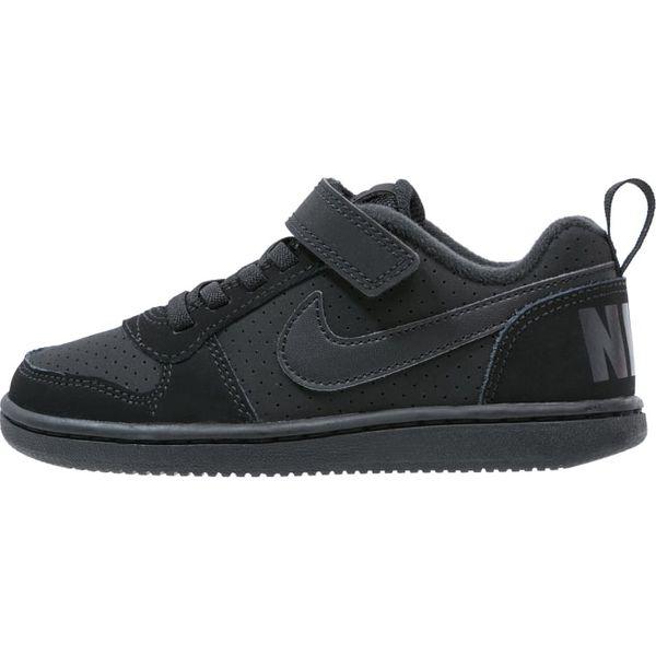321992ae097cb Nike Sportswear COURT BOROUGH Tenisówki i Trampki black - Czarne ...
