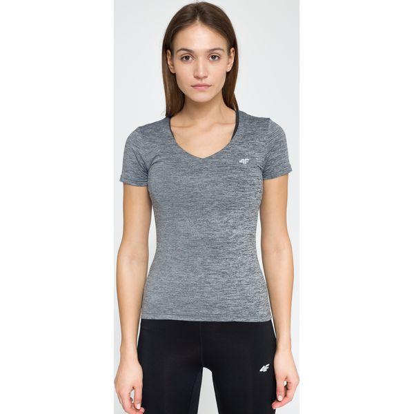 0a6c5c4d2cba68 Koszulka treningowa damska TSDF300 - szary melanż - 4F - Szare koszulki  damskie marki 4F, melanż, z elastanu. Za 49.99 zł. - Koszulki damskie -  Koszulki i ...