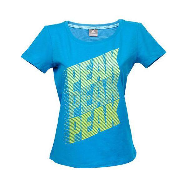 e40aa00e96ef7 PEAK T-shirt damski F652348 niebieski r. M (63620) - T-shirty damskie . Za  49.25 zł. - T-Shirty damskie - Koszulki i topy damskie - Odzież damska -  Butik ...