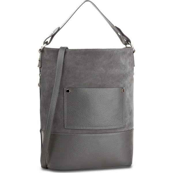 fc197464d6135 Torebka CREOLE - K10452 Szary - Szare torebki klasyczne damskie ...