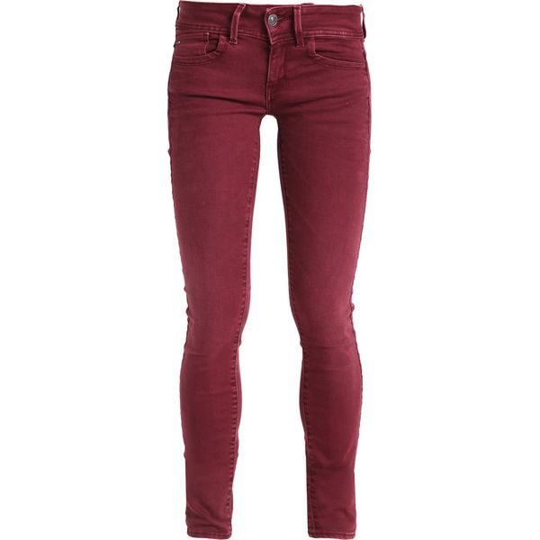 b9170e55a32e GStar LYNN MID SKINNY COJ Jeans Skinny Fit port red - Czerwone rurki ...