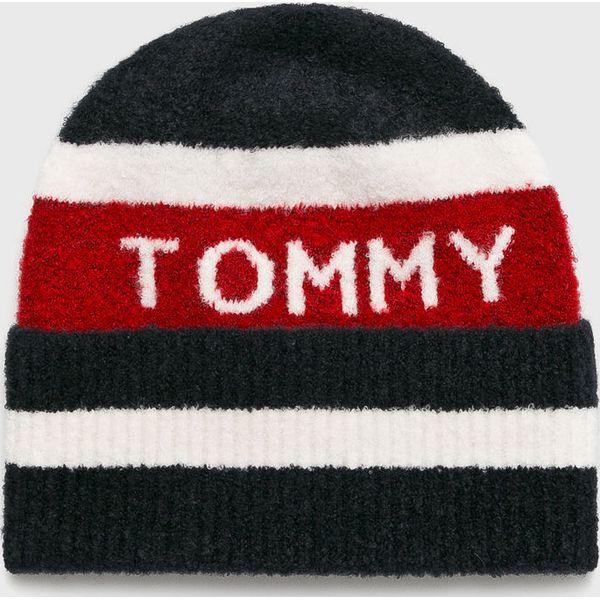 221678caa8448 Tommy Hilfiger - Czapka - Czapki damskie marki Tommy Hilfiger. W wyprzedaży  za 179.90 zł. - Czapki damskie - Czapki i kapelusze damskie - Akcesoria  damskie ...