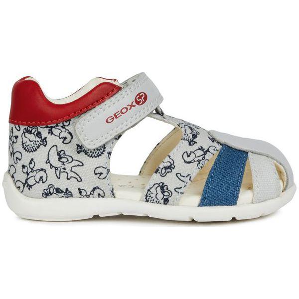 29ef0c55a1996 Geox Sandały Chłopięce Elthan 19 Białe - Sandały chłopięce marki ...