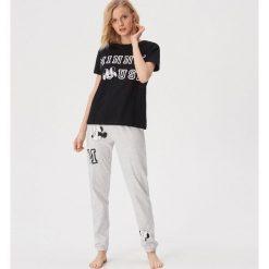 347c696fb3237a Bawełniana piżama Minnie Mouse - Czarny. Czarne piżamy damskie Sinsay, bez  wzorów, z