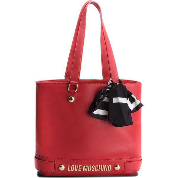 81fd7b47ce78a Torebka LOVE MOSCHINO - JC4312PP06KU0001 Rosso - Czerwone torebki klasyczne  damskie marki Love Moschino
