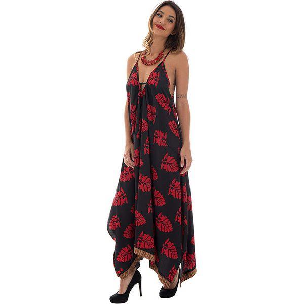 18fa8f3061c2ce Sukienka w kolorze czarno-czerwonym - Czarne sukienki damskie marki ...