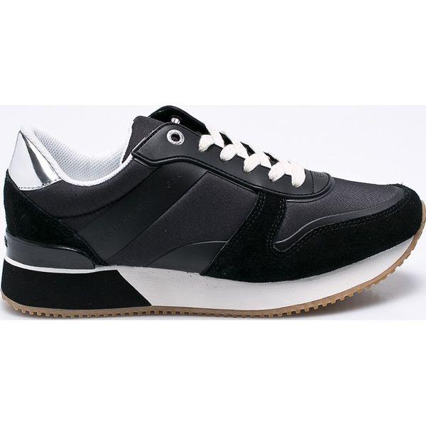 117c79604d2d1 Tommy Hilfiger - Buty - Czarne obuwie sportowe damskie marki Tommy ...
