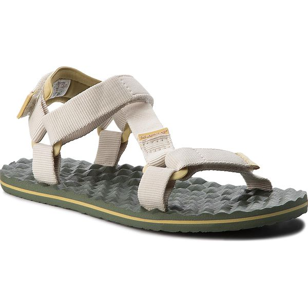 51103cb2c2c02 Sandały THE NORTH FACE - Base Sandal Camp Switchback Sandal T92Y984BT  Vintage White/Olivenite Yellow - Sandały damskie marki The North Face.