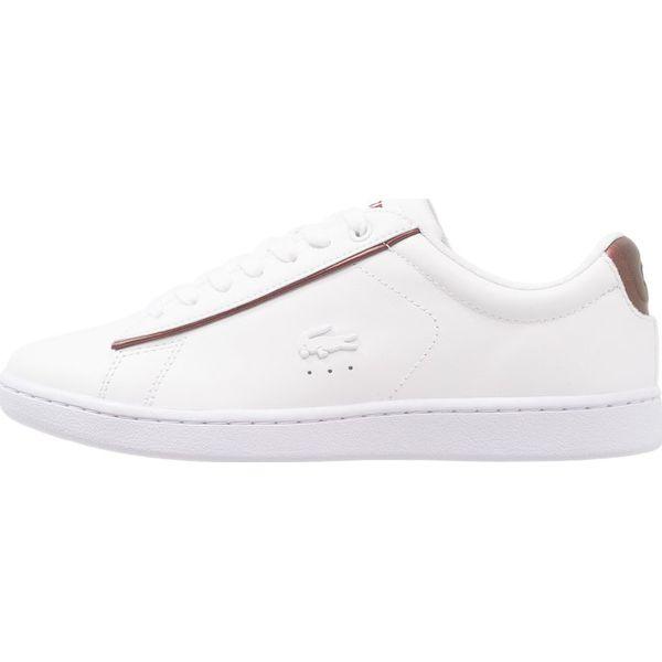 2f5272b2c Lacoste CARNABY EVO Sneakersy niskie white/burgundy - Obuwie ...