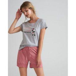 b018e82cd1716c Piżama Disney - Jasny szary. Szare piżamy damskie Reserved, bez wzorów, bez  ramiączek