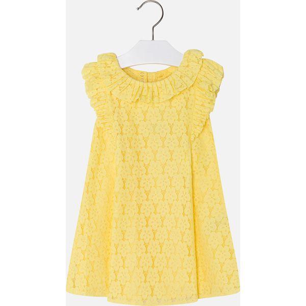 9956314e39 Mayoral - Sukienka dziecięca 98-134 cm - Żółte sukienki dziewczęce ...