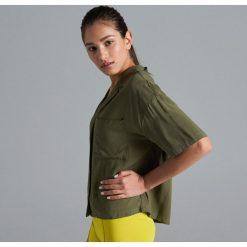 b37dff78724cfd Zielone koszule damskie ze sklepu Cropp - Kolekcja lato 2019 - Butik ...