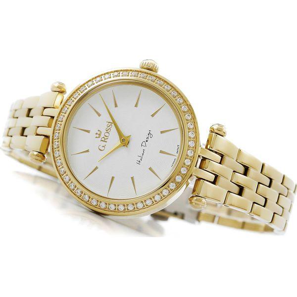 f69a54bec466a Zegarek Gino Rossi damski Serba złoty (11193-3D1) - Żółte zegarki ...