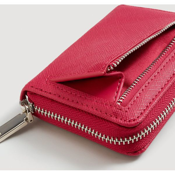 c2cd7d590d607 Mango - Portfel Lole - Różowe portfele damskie marki Mango, z ...
