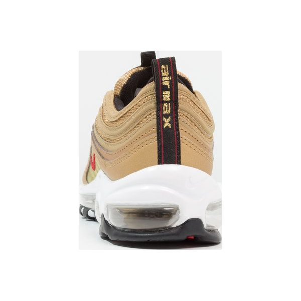 Nike Sportswear AIR MAX 97 QS (GS) Tenisówki i Trampki metallic goldvarsity redblackwhite