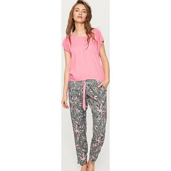 8fc21e04e982d2 Dwuczęściowa piżama - Pomarańczo - Szare piżamy damskie Reserved. W ...