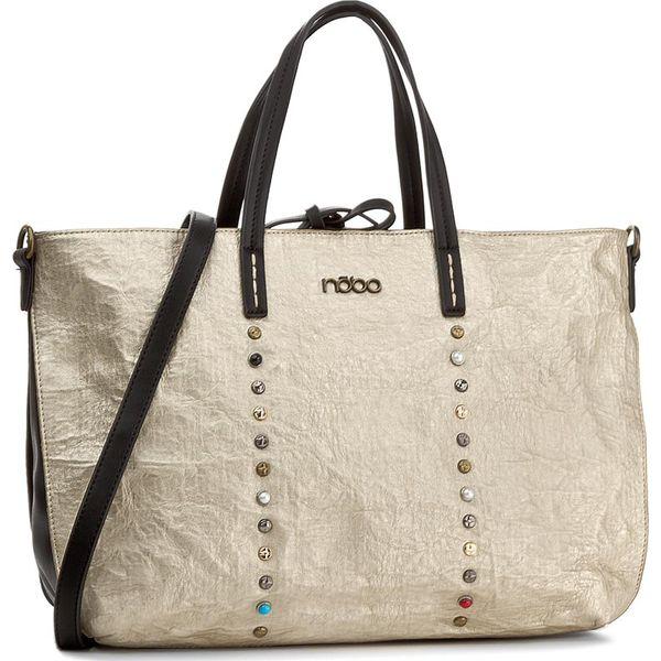 b5929702877dc Torebka NOBO - NBAG-D3340-C023 Złoty - Shopper bag marki Nobo. W ...