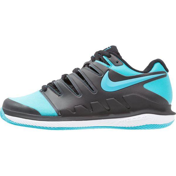 Nike Performance AIR ZOOM VAPOR X CLAY Obuwie do tenisa Outdoor blackgamma bluewhite