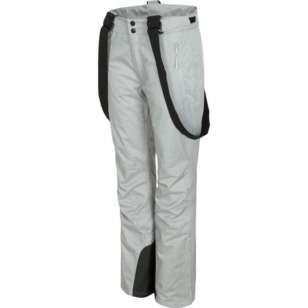 b50d59f2da Spodnie narciarskie damskie SPDN300 - chłodny jasny szary melanż ...