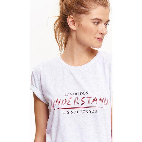 8dea6493e2 T-SHIRT DAMSKI Z NADRUKIEM - T-shirty damskie marki TROLL. W ...