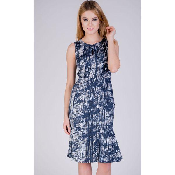 ca99210489 Zwiewna sukienka z printem QUIOSQUE - Sukienki dziewczęce marki ...