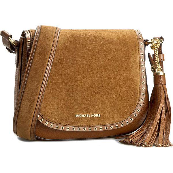 52a4f8b21bd97 Torebka MICHAEL KORS - Brooklyn 30F6ABNM2S Luggage - Brązowe torebki  klasyczne damskie marki Michael Kors. W wyprzedaży za 1