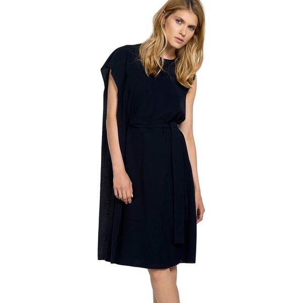 aedeb91dd3 Sukienka w kolorze granatowym - Niebieskie sukienki damskie marki ...