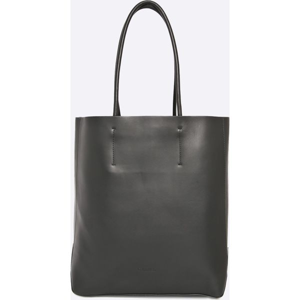 2439bbb1134bc Calvin Klein Jeans - Torebka - Czarne torebki klasyczne damskie ...