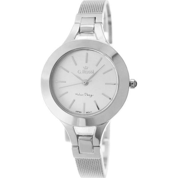 abc56e487f302 Zegarek Gino Rossi damski Morla srebrny (10061-3C1) - Szare zegarki ...