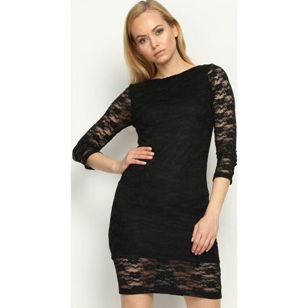 f24b40fd6f83 Czarna Sukienka Missile - Czarne sukienki damskie marki Born2be