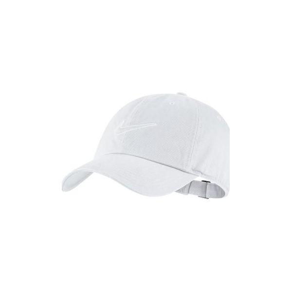 Czapka z daszkiem tenisowa Nike biała