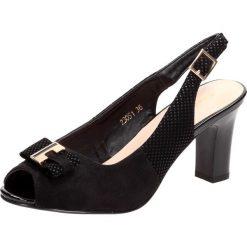 Damskie Haze Sandały 18761611 Black (rozmiar 40)
