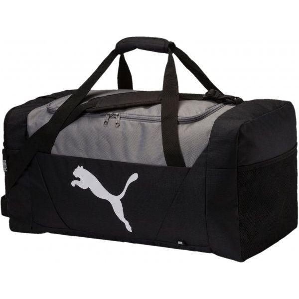 fb1eea0d1235e Puma Torba Sportowa Fundamentals Sports Bag M Black - Torby sportowe ...