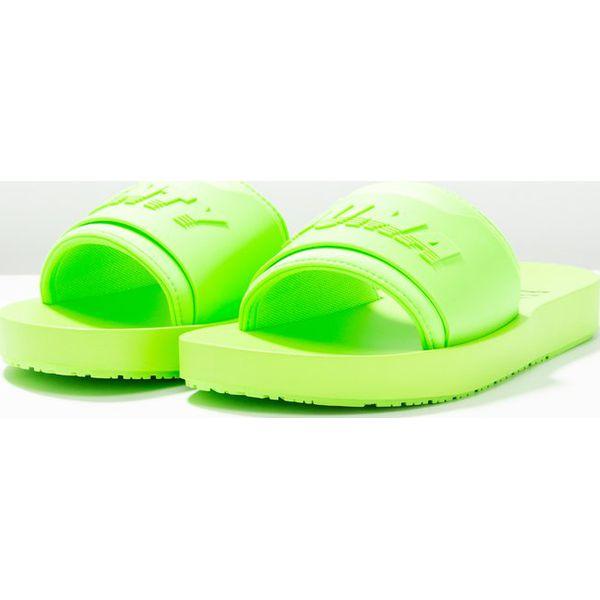 244ac6ba Fenty PUMA by Rihanna SURF SLIDE Klapki green gecko - Zielone klapki ...