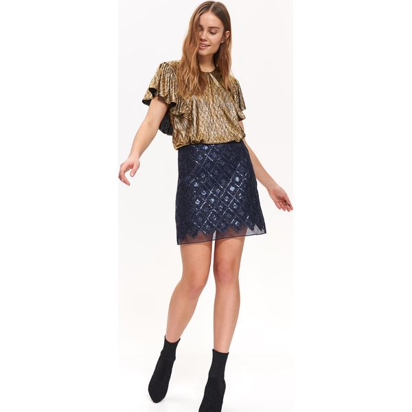 29280813b7a465 Wyprzedaż - bluzki i koszule damskie z dekoltem w serek - Kolekcja lato  2019 - Butik - Modne ubrania, buty, dodatki dla kobiet i dzieci
