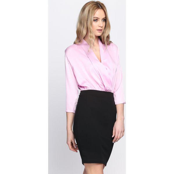 aa51c4d0ee Jasnofioletowa Sukienka Long Away - Fioletowe sukienki damskie marki ...