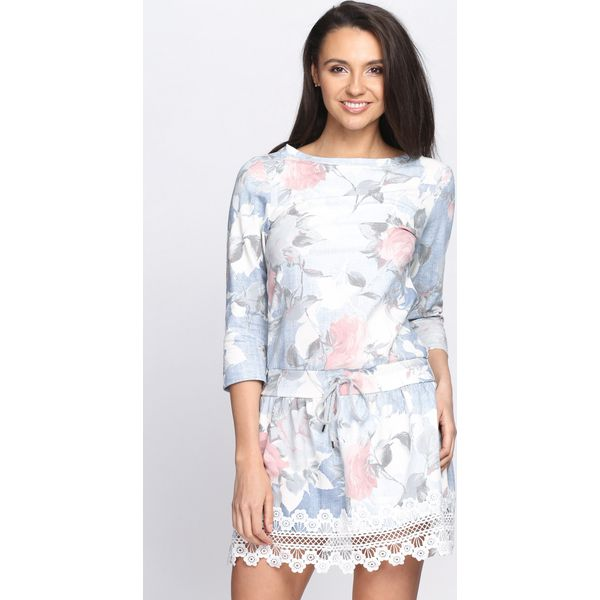 0e8c369a9d Jasnoniebieska Sukienka Great Success - Niebieskie sukienki damskie ...
